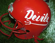 Hall red devils football